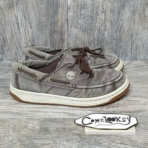 Men's Size 9 Timberland canvas shoes